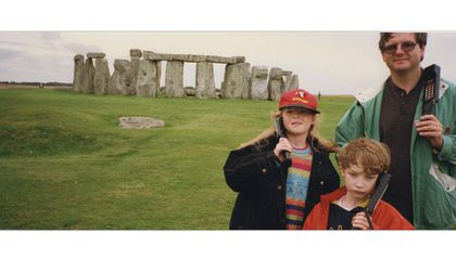 See 150 Years of Stonehenge Family Photos