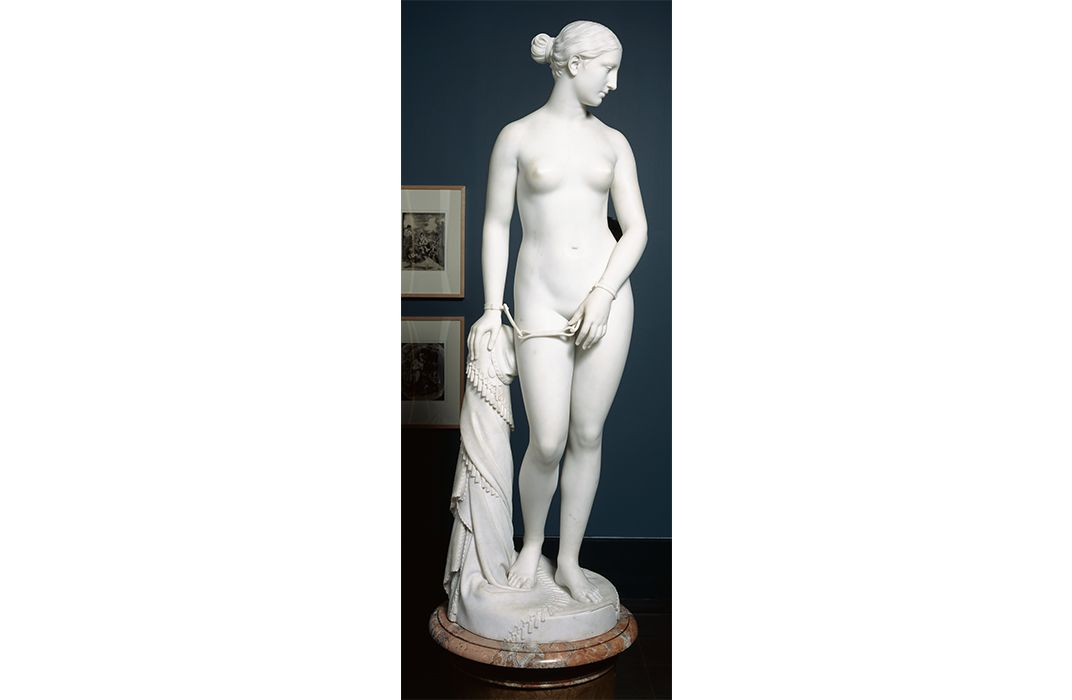Hiram Powers, Marble Greek Slave