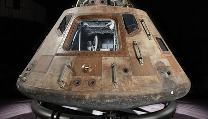 Apollo 11 Command Module Makes Another Journey