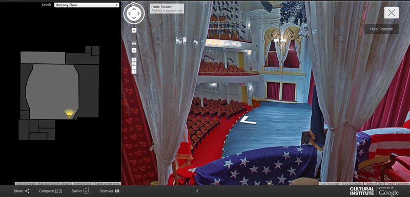 Google Street View - Ford's Theatre