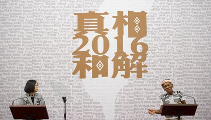 Taiwan's President Issues First Formal Apology to Nation's Indigenous Peoples