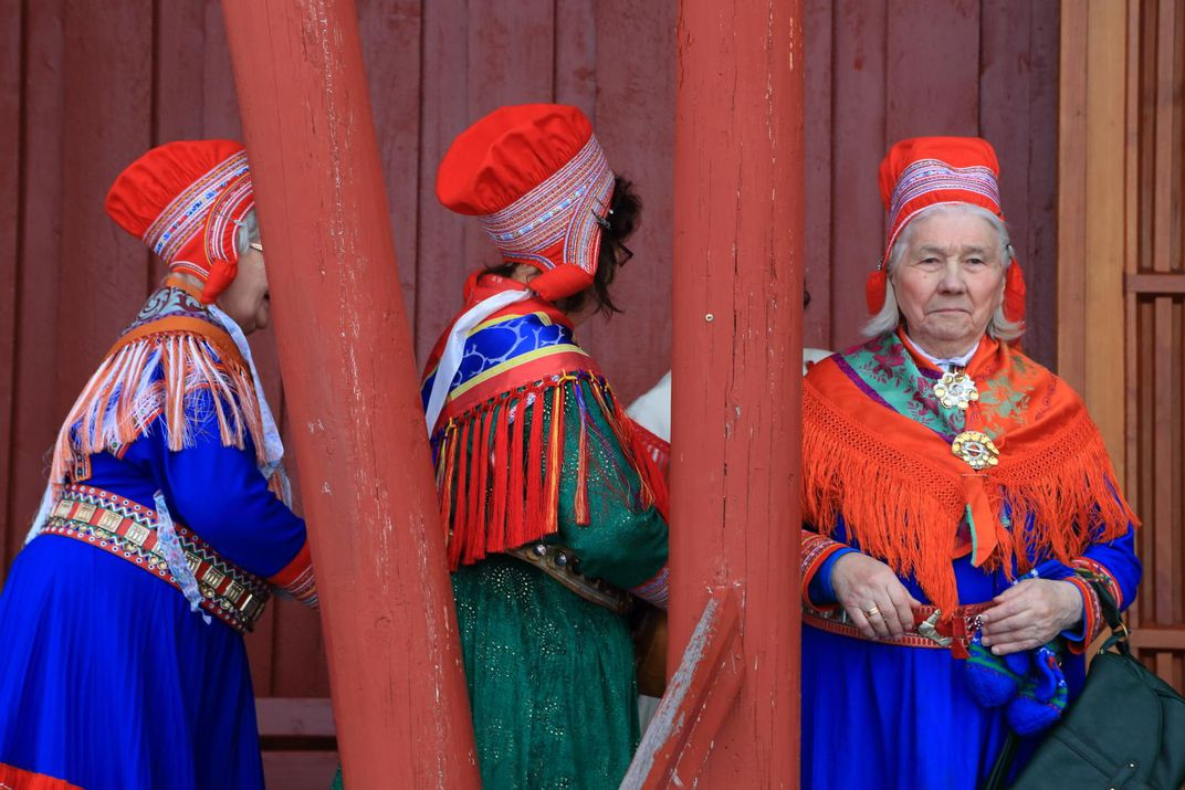 Sami traditional outfits, Norway