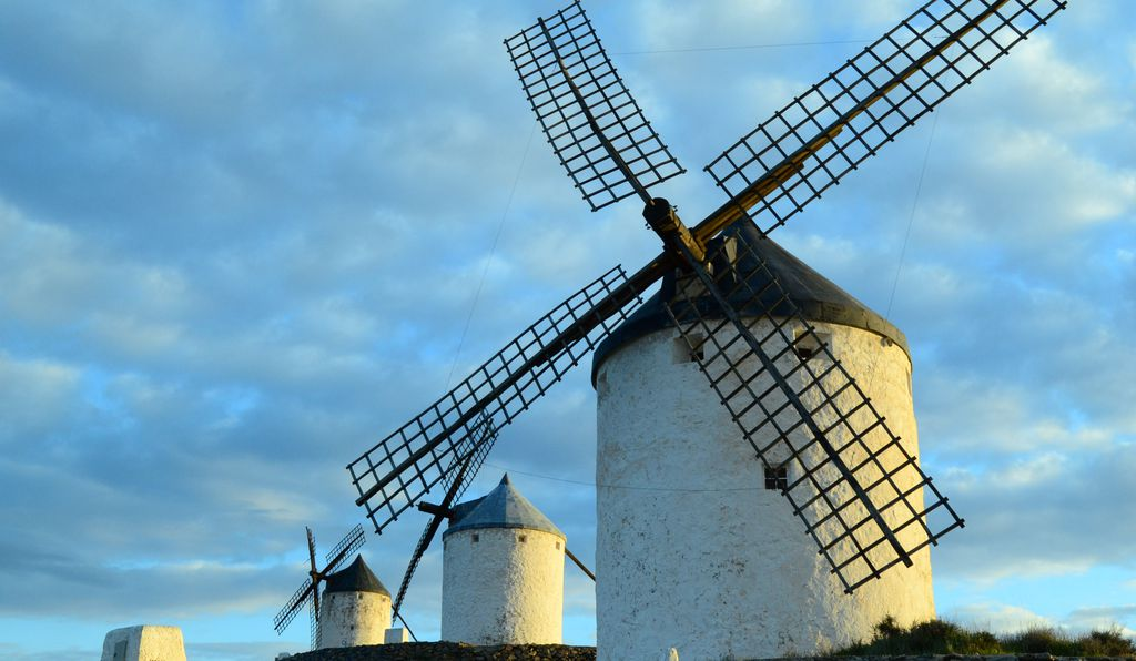 The Consuegra Windmills.
