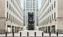 This Monumental 'Oracle' Statue in NYC Subverts Traditional Sculpture