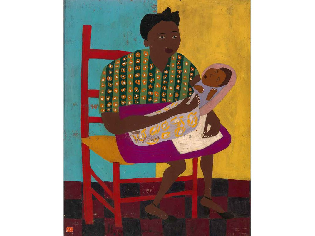 Young Mother, W. H. Johnson