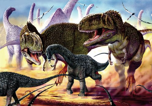 Did Giant Predatory Dinosaurs Eat Bones