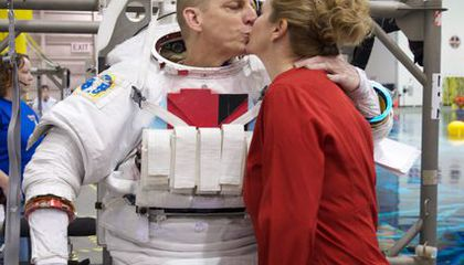 A Kiss Before You Spacewalk