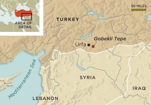 Gobekli Tepe: The World's First Temple? | History | Smithsonian on middle east map, stonehenge map, baalbek map, garden of eden map, rome map, istanbul map, cappadocia map, easter island map, ur map, fertile crescent map, babylon map, troy map, night sky map, turkey map, samaria map, catalhoyuk map, teotihuacan map, angkor wat map, ancient civilizations map, puma punku map,