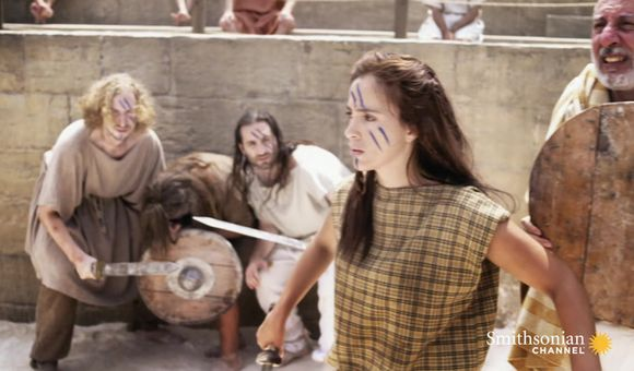 Preview thumbnail for video'This Female Gladiator Captive Had to Fight for Her Life