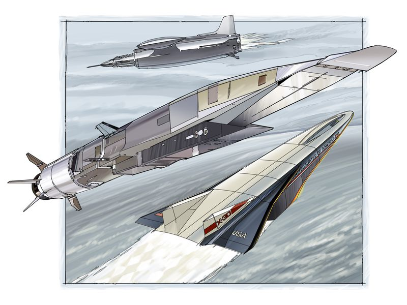The Ramjet and the Rocket | Flight Today | Air & Space Magazine