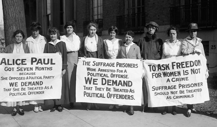 A Museum Showcases the Radical Suffrage Protests