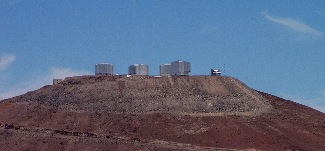 Paranal Observatory from afar