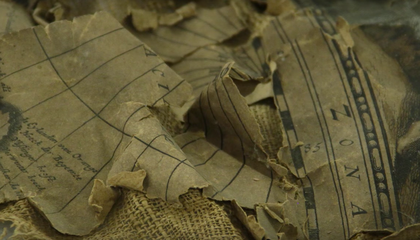 Rare 17th-Century Map Found Shoved Up a Chimney Is Restored