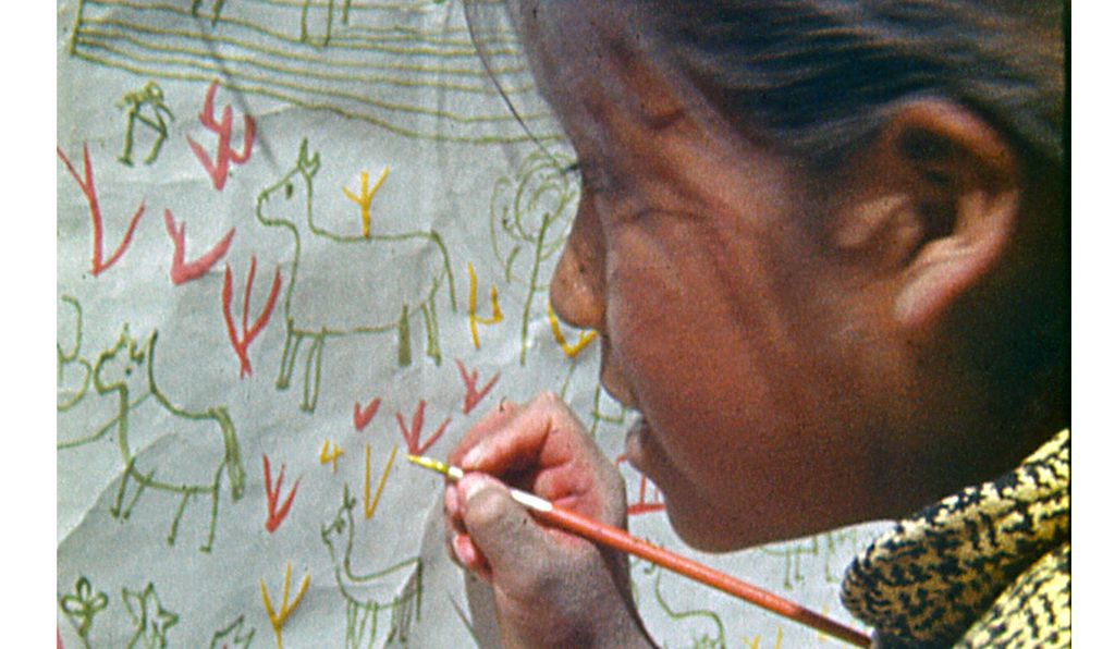 Unlike other anthropological filmmakers, Jorge Prelorán spent time getting to know his subjects. Here, a still from <em>Chucalezna</em> (1968).