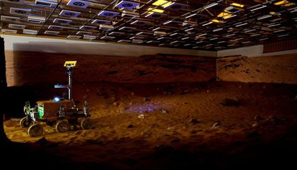 "Driving a ""Lunar"" Rover, From the Space Station"