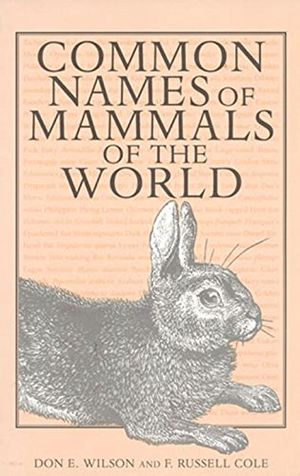 Common Names of Mammals of the World photo
