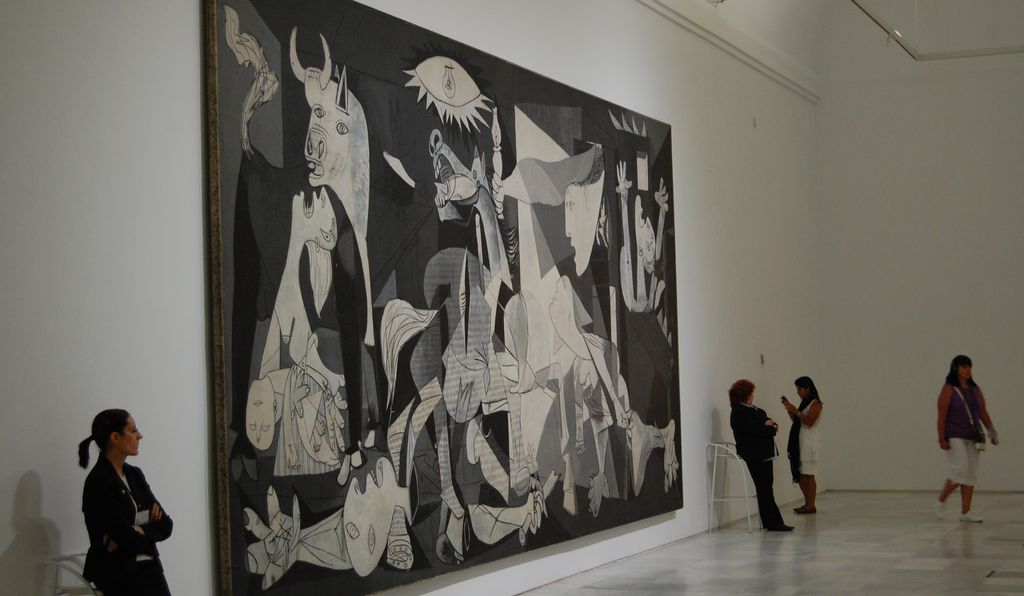 In <em>Guernica</em>, Pablo Picasso painted what may be the best-known piece of antiwar art of all time.