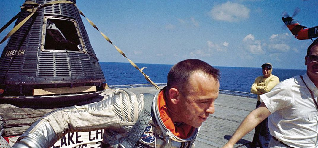 Caption: Why Alan Shepard Caried a Dollar Into Space