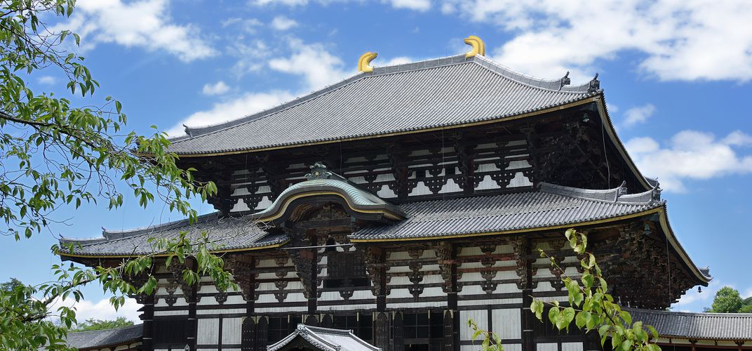 The Todaiji Temple, Nara