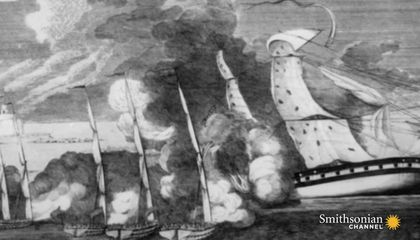 The Oldest American Combat Ship Ever Found