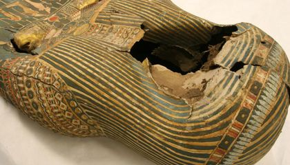 Legos Helped Restore a 3,000-Year-Old Sarcophagus