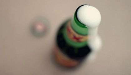 The In-Depth Science of Why a Beer Bottle Erupts When You Whack It