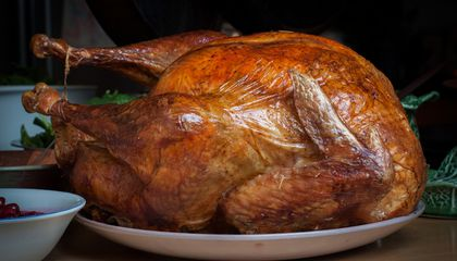 The traditional Thanksgiving turkey is delicious, but is it paleo? (Photo Credit: Tim Sackton via Flickr)