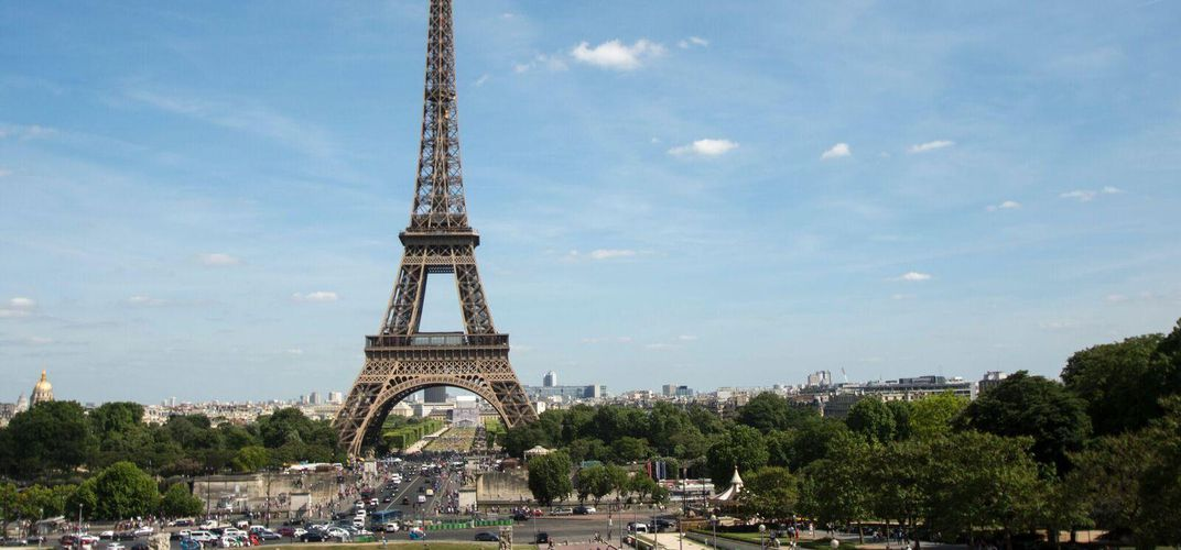 Views of the Eiffel Tower
