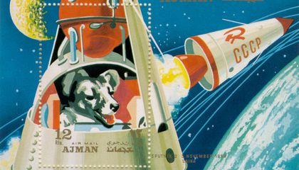 The Sad, Sad Story of Laika, the Space Dog, and Her One-Way Trip into Orbit