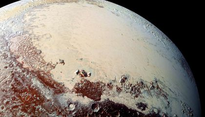 """How the Pull of an Icy """"Heart"""" Sent Pluto's Poles Wandering"""