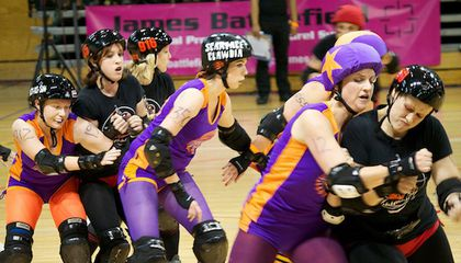 Roller Derby Players Go Home With Bruises And a New Microbiome