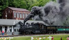 Railroading the Alleghenies description