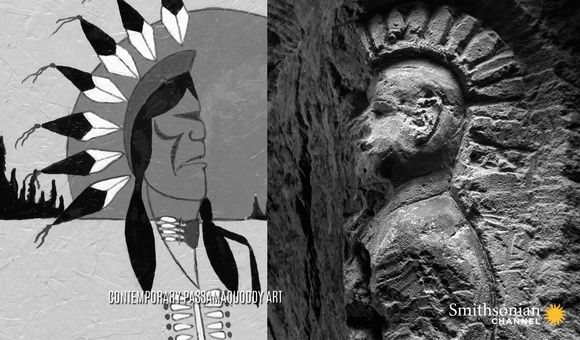 Preview thumbnail for video'What Do Native American Carvings in French WWI Quarries Mean?