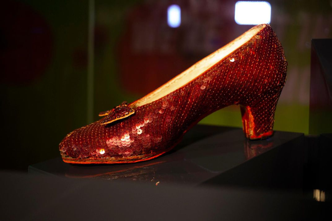 a6b8f7db2c3 The Return of Dorothy's Iconic Ruby Slippers, Now Newly Preserved ...