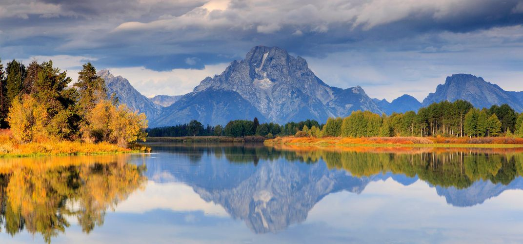 The landscape of the Grand Tetons. Credit: Megan Lorenz