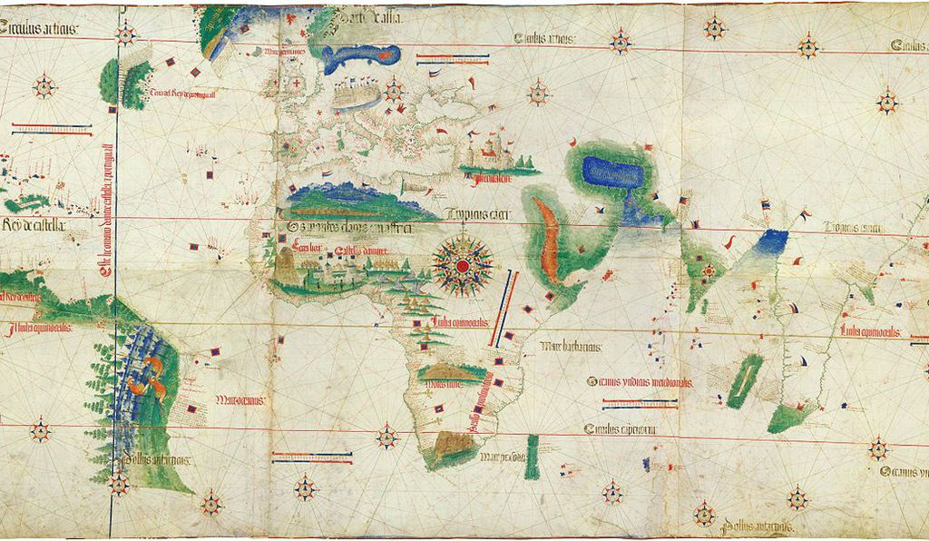 The Cantino Planisphere.