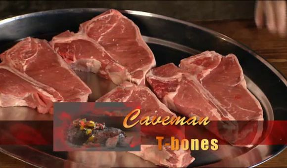 Preview thumbnail for video'How to Grill Caveman T-bone Steaks