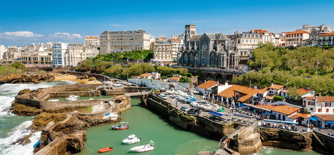 City View of the gorgeous Biarritz