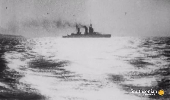 Preview thumbnail for video'The complex maneuvering of World War I's biggest naval battle