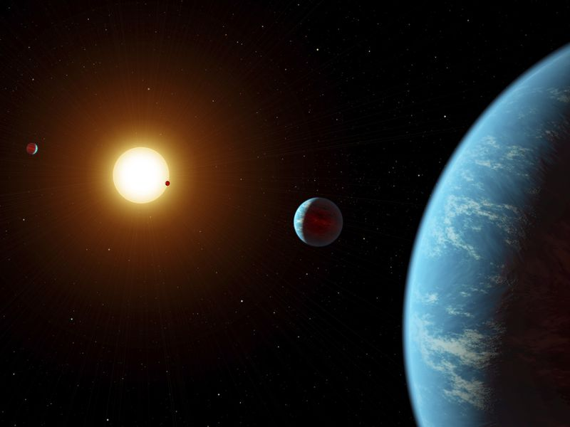 citizen scientists discover an unusual five planet solar system