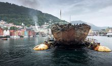 After 100 Years, Roald Amundsen's Polar Ship Returns to Norway