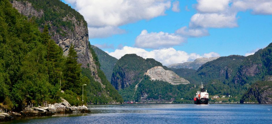 A Cruise of Coastal Norway  <p>Follow in the wake of Vikings aboard our new cruise along the coast of Norway from Bergen to Kirkenes, featuring breathtaking scenery, Norwegian history and culture, and optional hikes.&nbsp;</p>