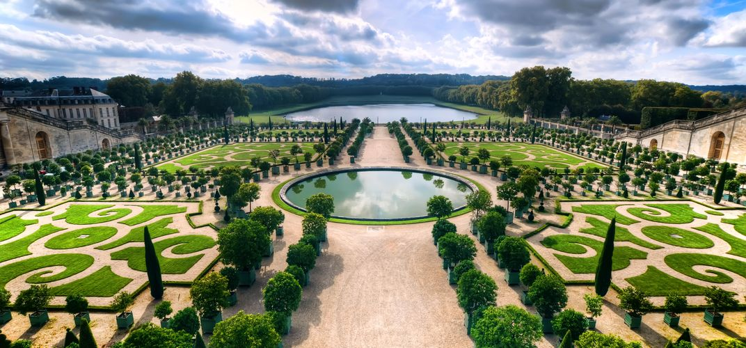 The formal gardens of Versailles
