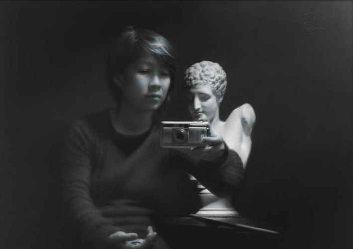 Self-Portrait with Hermes