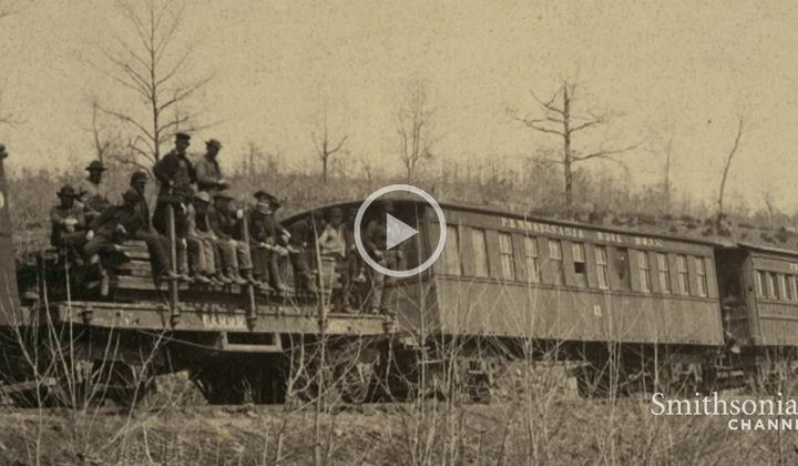 The Moment Lincoln Realized the Military Power of Railroads