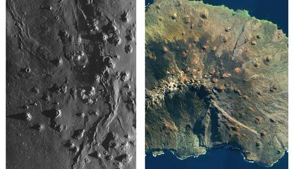Volcanic Shields of the Moon