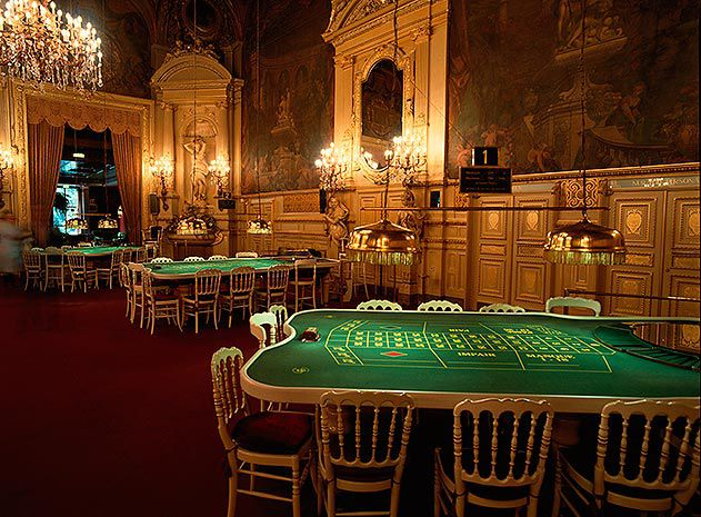 Casino of Kurhaus Baden Baden Germany