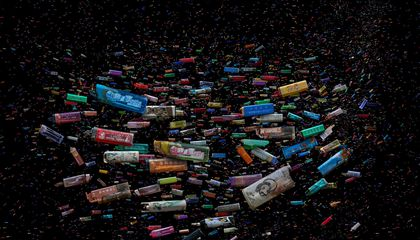 This Artist Transforms Beach Trash Into Stunning, Majestic Images