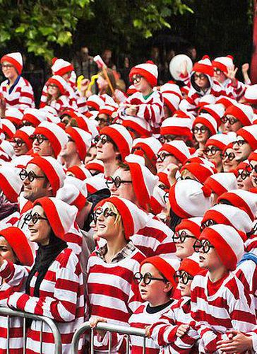 Caption: The Science Behind Our Search for Waldo