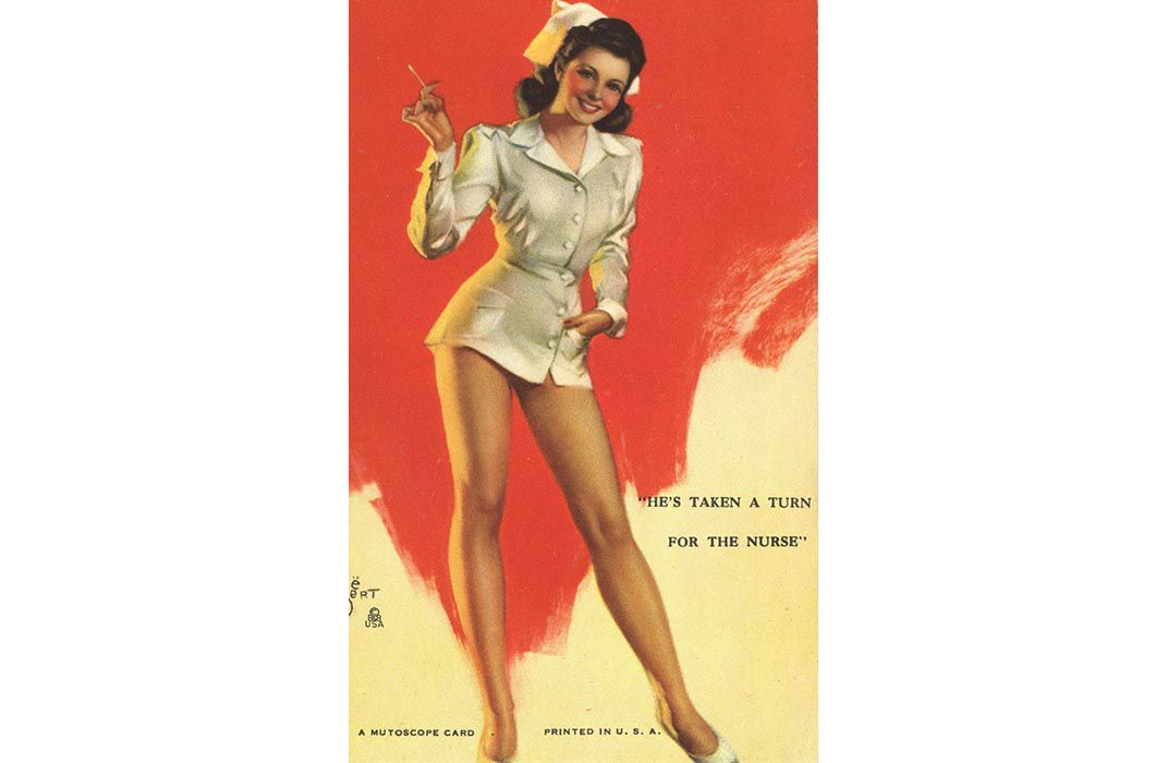 The Evolution Of The Nurse Stereotype Via Postcards From Drunk To